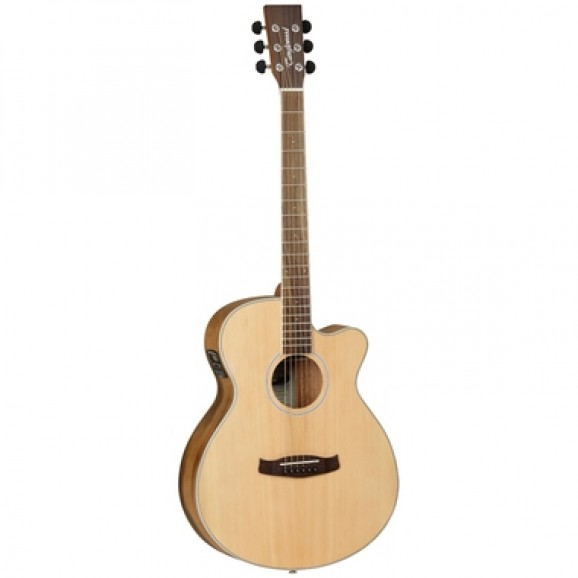 Tanglewood SFCEPW Discovery Exotic Superfolk Pacific Walnut