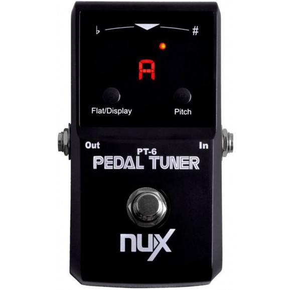 NU-X Core Stompbox Series Polyphonic Strum Tuner Pedal
