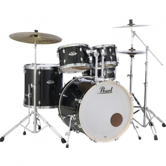 Pearl Export Fusion Plus Package - Jet Black