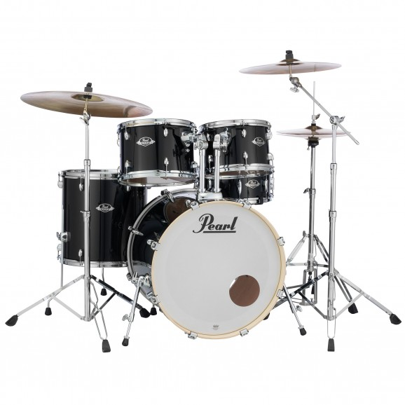 Pearl Export EXX Fusion Kit w/ Planet Z cymbals + 830 Series Hardware Pack