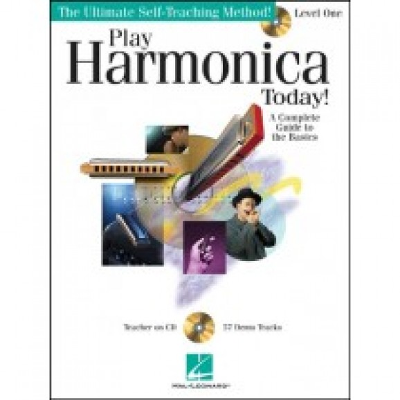 Play Harmonica Today! Level 1 (BK/CD)