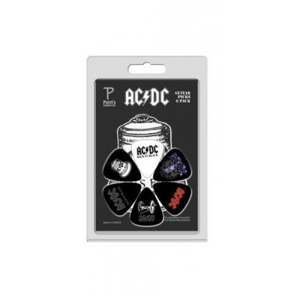 Perris AC/DC Guitar Picks - LPACDC3