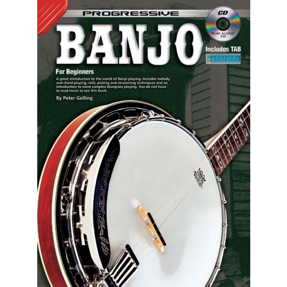 Progressive Banjo (BK/CD) - includes TAB