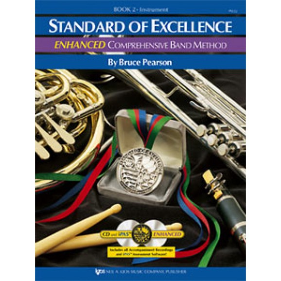 Standard of Excellence Enhanced Drums - Book 2