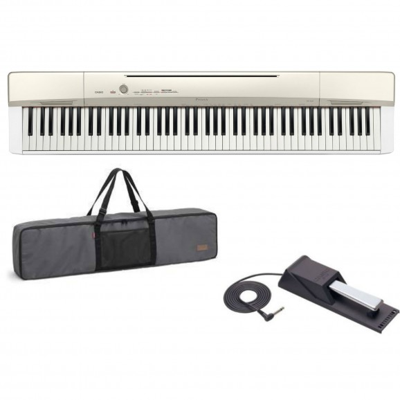 Casio Privia PX160 White Digital Piano Pro Kit