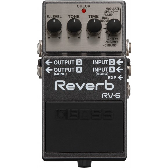 Boss RV-6: Digital Reverb Pedal