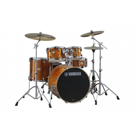 Yamaha Stage Custom Honey Amber Euro Kit w/ Hardware