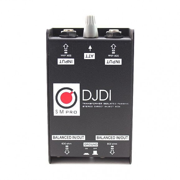 DJDI: 2-Channel DI Box