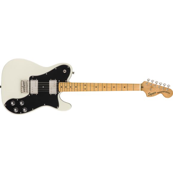 Squier Classic Vibe 70's Telecaster Deluxe Olympic White (w/ Maple Fingerboard)