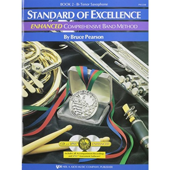 Standard of Excellence Tenor Sax - Book 2
