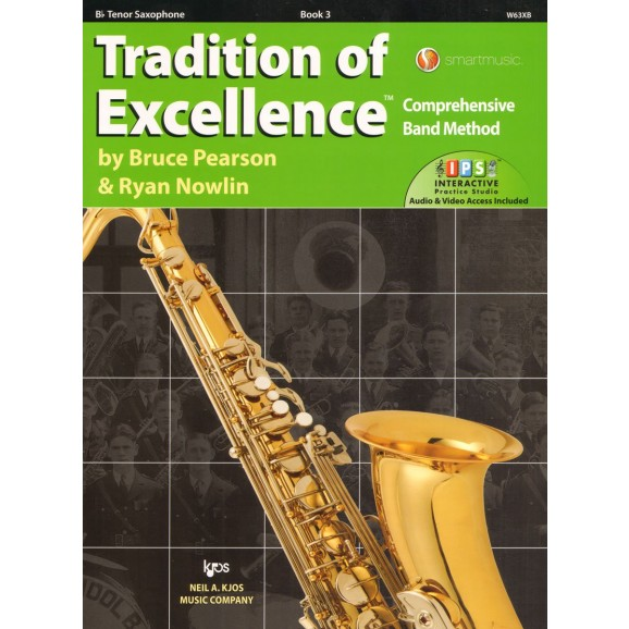 Tradition of Excellence Bb Tenor Saxophone Book 3