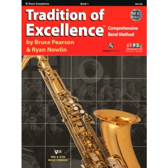 Tradition of Excellence Tenor Sax Book 1