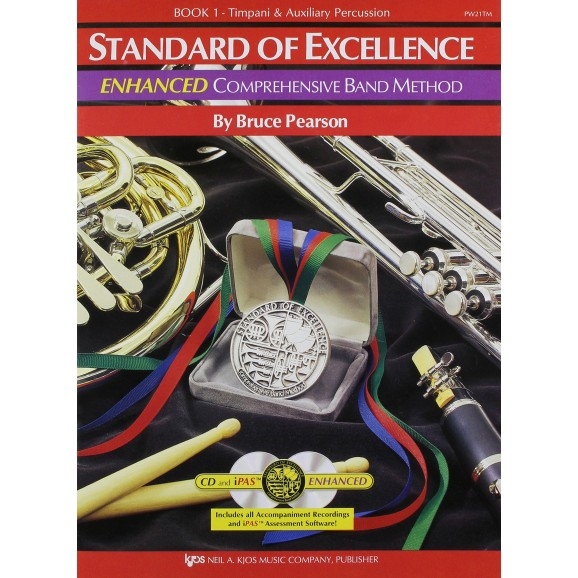 Standard of Excellence Timp/Aux Percussion - Book 1