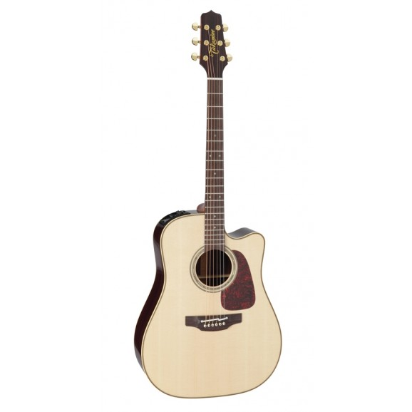 Takamine P5DC Pro Series Dreadnought Solid Spruce Top Solid Rosewood Back