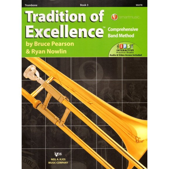 Tradition of Excellence Trombone Book 3