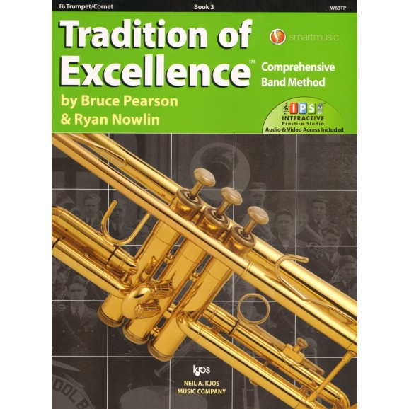 Tradition of Excellence Bb Trumpet Book 3