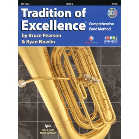Tradition of Excellence Bb Tuba Book 2