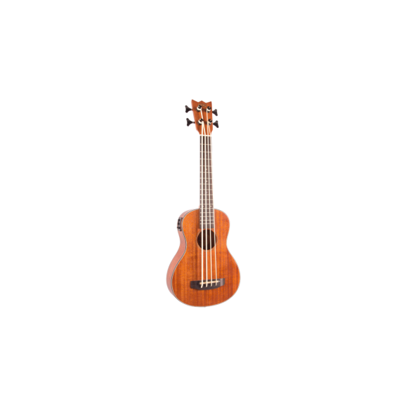 Mahalo MEAB1 Acoustic Electric Bass Ululele with Bag