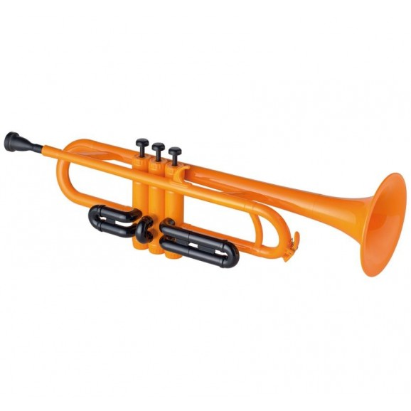 Cool Wind Trumpet Orange ABS Body Metal Valves
