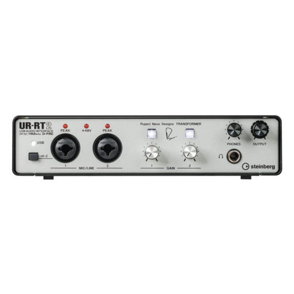 Steinberg USB Audio Interface with Rupert Neve Transformers UR-RT2