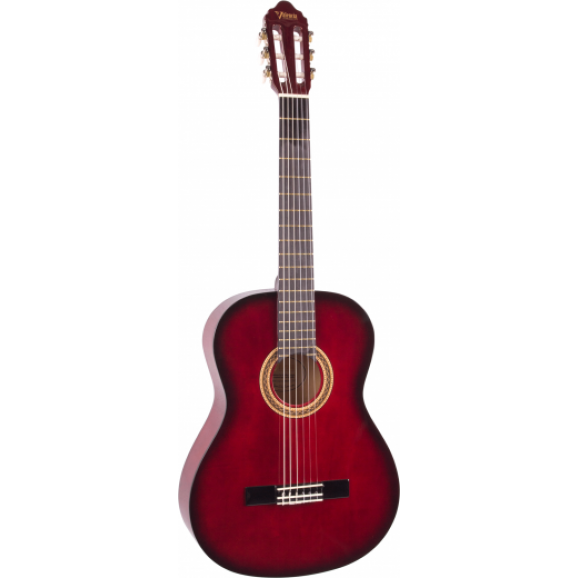 Valencia 3/4 Size Classical Guitar - Red Burst