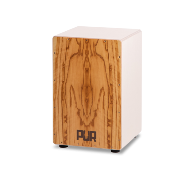 PUR Cajon Vision White w/ Backpack