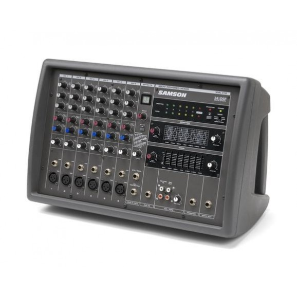 Samson XML410S 6 Channel 400 watt Powered Mixer