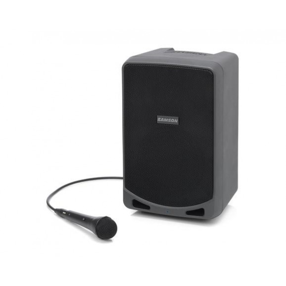 Samson XP106 Portable 100w PA with Bluetooth and wired mic